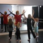 Worship Dance Class at a local studio.