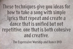 Creative choreography quote