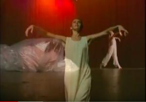 Worship dancer Cynthia Newland