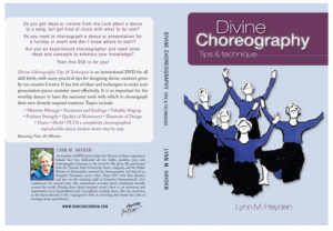 Divine Choreography DVD cover