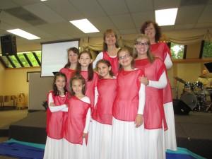 pattern for worship dance tunic