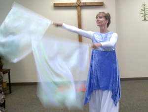 worship dance to psalm
