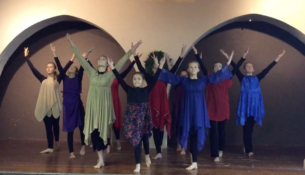 Liturgical Dance to Psalm 150