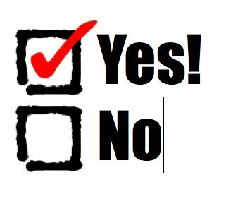 """Doors Open when we say """"Yes"""""""