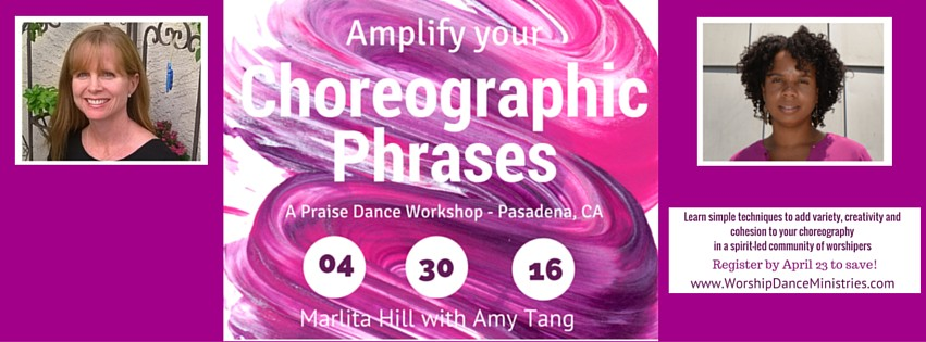 worship choreography workshop