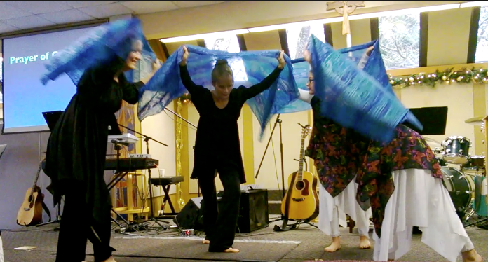 christmas praise dance scarves