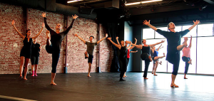 John Pennington teaching the modern dance class that I've been privileged and challenge to take at ARC studio in Pasadena.