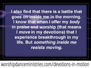 devotions in motion