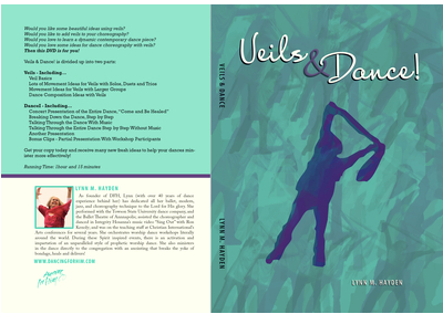 Veils in worship dance DVD