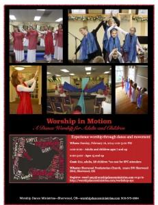 worship in motion workshop SPC 2014