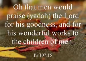yadah for praise