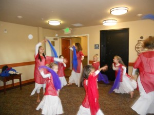 Our Class Dancing at an Assisted Living Facility