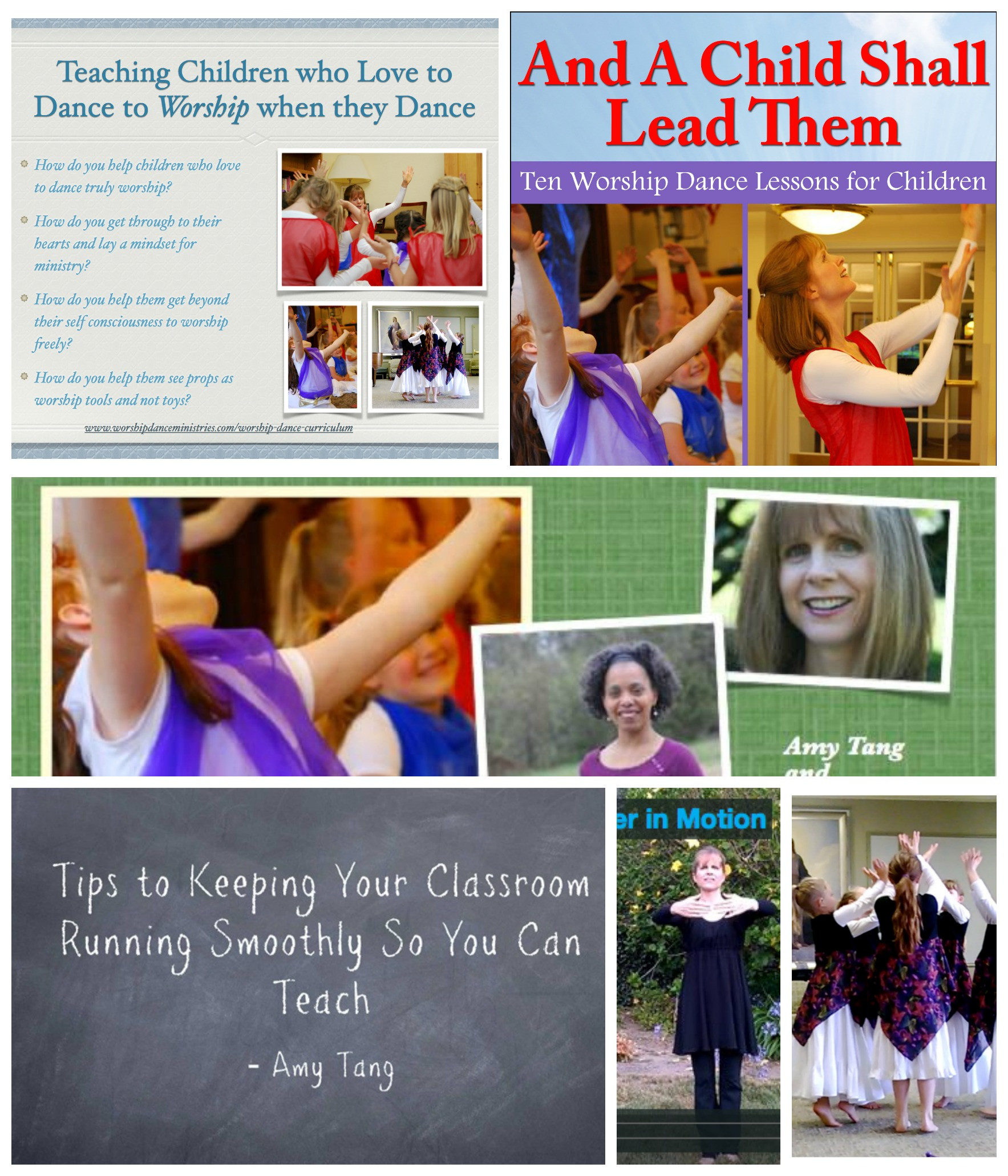 The Course: Teaching Worship Dance to Children is Online now!