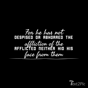 Psalm of lament