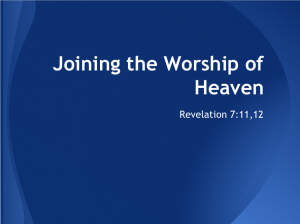 Joining the Worship of Heaven cover