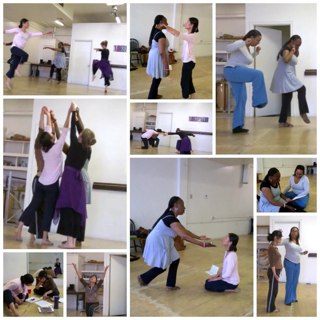 Pasadena dance intercession collage