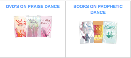 praise and worship dance books and dvds
