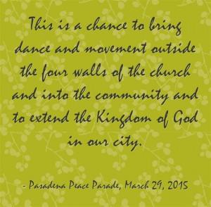dancing for city