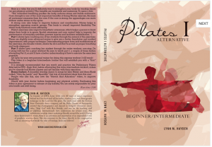 Pilates beginner/intermediate DVD