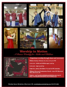 worship in motion workshop SPC 2014